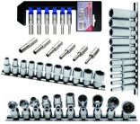 Socket assortments 1/4""