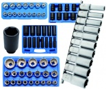 Socket assortments 1/2""