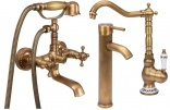 Basin mixers, shower heads, bathroom goods